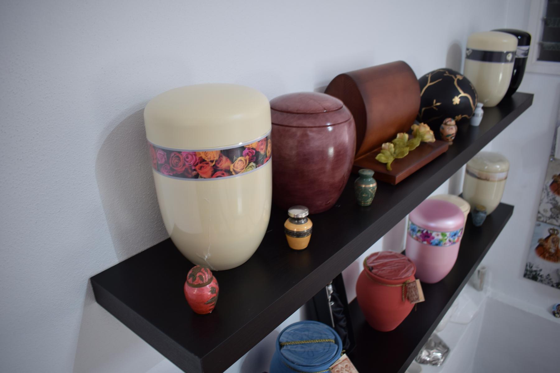 Urnas para incineracion o cremacion Funeraria Icod Torano